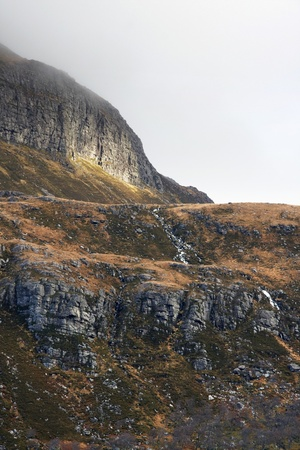 rocky overgrown landscape in Scotland Stock Photo - 10862989