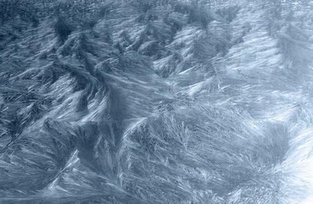 precipitate: artificial ice-like frost pattern Stock Photo