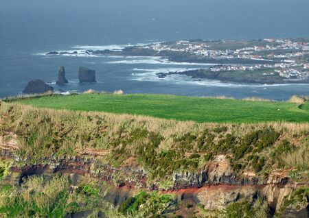 coastal scenery at Sao Miguel Island photo