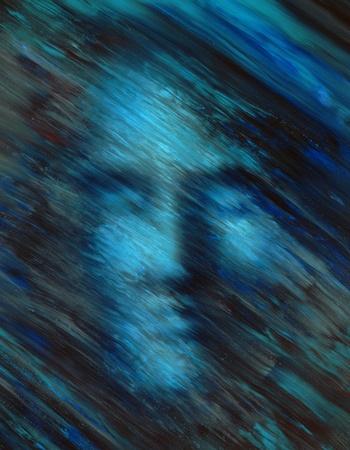 """caritas pintadas: imagen pintada al óleo hecho por mí llamado """"sueño"""""""
