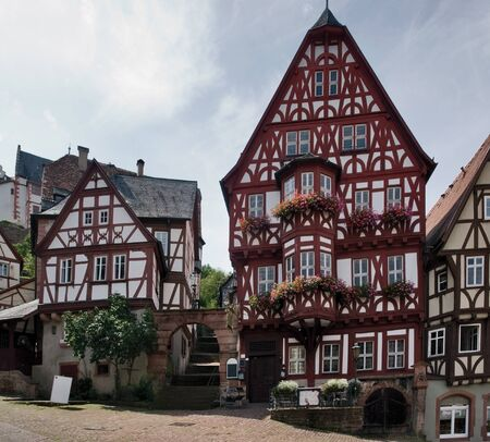 pictorial city view of Miltenberg, a small town in Southern Germany Stock Photo - 11906793