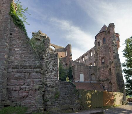 Wertheim Castle near Wertheim am Main in Southern Germany at evening time Stock Photo - 10965379