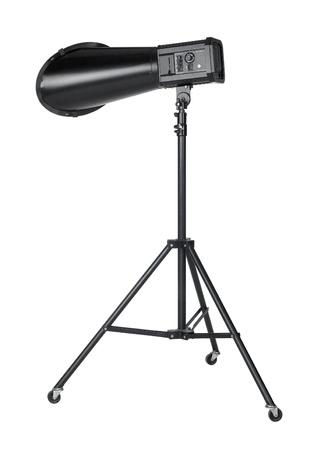 professional studio flashlight isolated on white Stock Photo - 10984156