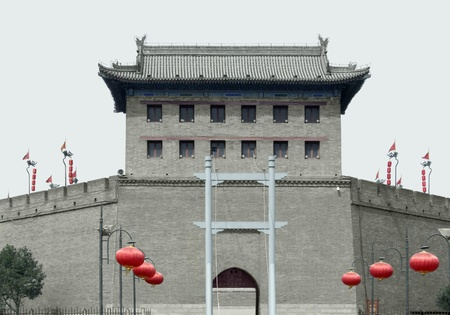 Southern Gate of Xian, a city in China Editorial
