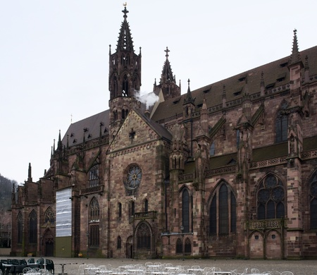 cathedral in Freiburg (Germany) Stock Photo - 10987599