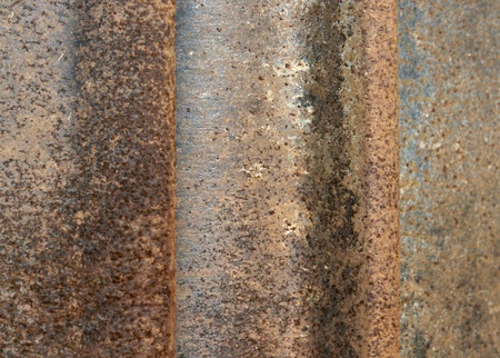electrochemical: full frame abstract background with corroded metal pieces
