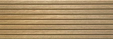 grooved: detail of a wooden board