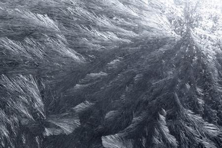 precipitate: artificial ice-like frost pattern Stock Photo