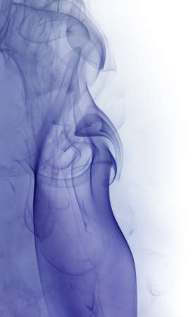 wavily: abstract background showing some blue colored smoke in light back