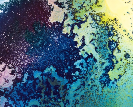 flocking: abstract background with flocking dye paint