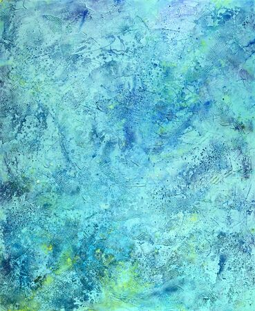 abstract full frame painting detail (painted by me) Stock Photo - 11174937