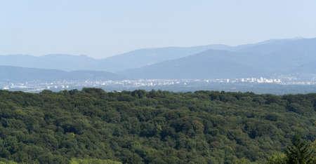 panoramic scenery around the