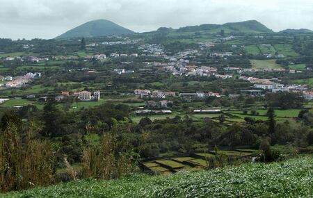 cloudy scenery at Sao Miguel Island Stock Photo - 11096500
