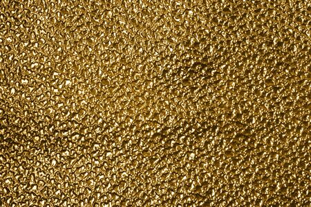 full frame abstract golden metallic background Stock Photo - 12412625