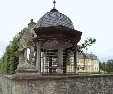 pavillon at the Castle Veitsh�chheim Stock Photo - 12848900