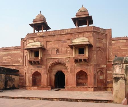 fatehpur: Architectural detail around Fatehpur Sikri, a city in Uttar Pradesh, India