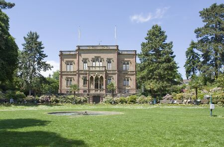 mansion with park in Freiburg im Breisgau  Germany  named Colombischloessle Stock Photo - 13970254