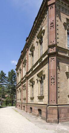 freiburg: mansion with park in Freiburg im Breisgau  Germany  named Colombischloessle