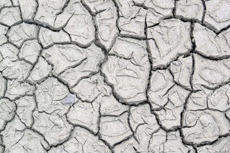abstract dry muddy and fissured ground photo