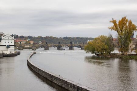 city view of Prague, the capital of the Czech Republic at autumn time Stock Photo - 16421541
