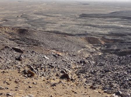 libysch: Stony Landschaft am Libysche W�ste in �gypten
