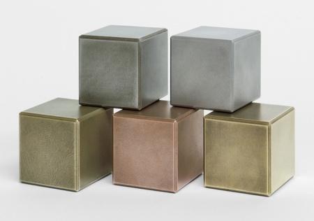 midsagittal: some metallic cubes in light back