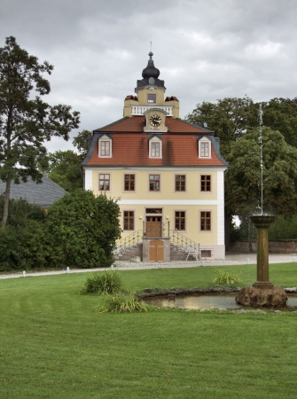 part of the Schloss Belvedere in Weimar, a city in Thuringia  Germany