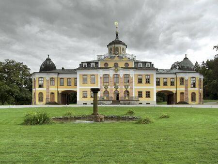 Schloss Belvedere in  Weimar, a city in Thuringia  Germany