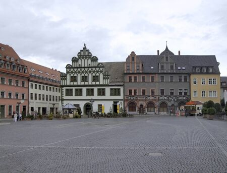 City view of Weimar, a city in Thuringia  Germany