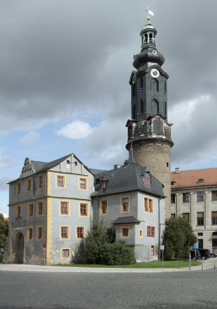 castle in Weimar, a city in Thuringia  Germany  photo