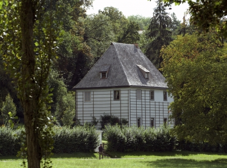 Gartenhaus of Goethe in Weimar, a city in Thuringia  Germany  photo