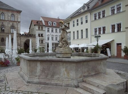 City view of Weimar, a city in Thuringia  Germany  photo