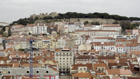 portugese: Panoramic view of Lisbon, the capital city of Portugal