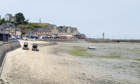 town in Brittany named Cancale photo