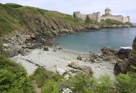 Fort-la-Latte at Cap Frehel in Brittany, France photo
