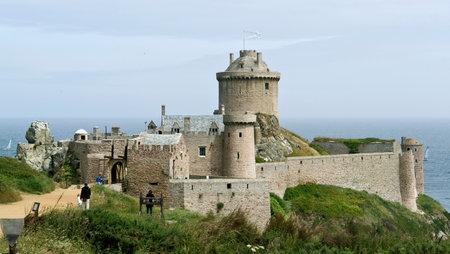 Fort-la-Latte at Cap Frehel in Brittany, France