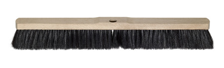besom: besom without handle in white back Stock Photo