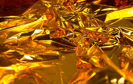 goldfolie: Full-Frame-Hintergrund erh�hte Goldfolie