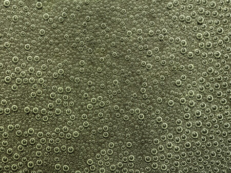air bladder: full frame abstract underwater background with lots of small air bubbles