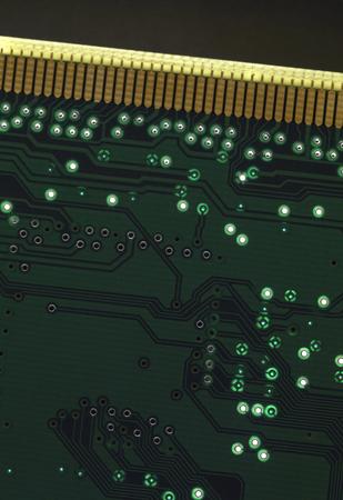 printed circuit board: d�tail full frame d'une carte de circuit imprim�