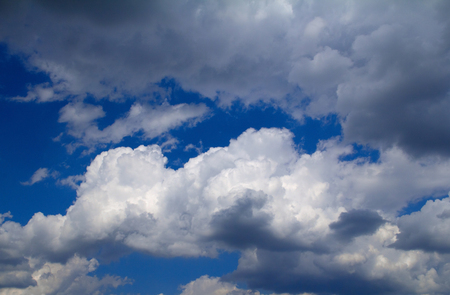 precipitate: blue sky and some clouds at summer time