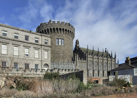 leinster: part of the Dublin Castle in Ireland