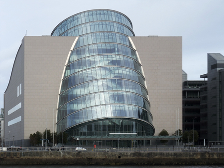 leinster: Convention Centre Dublin in Ireland Editorial