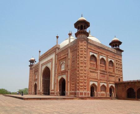 uttar pradesh: historic building in Agra in Uttar Pradesh, India