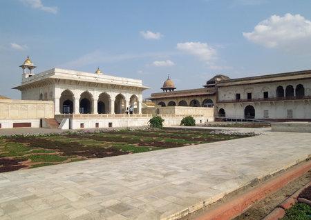 uttar pradesh: a historic building in Agra in Uttar Pradesh, India Editorial