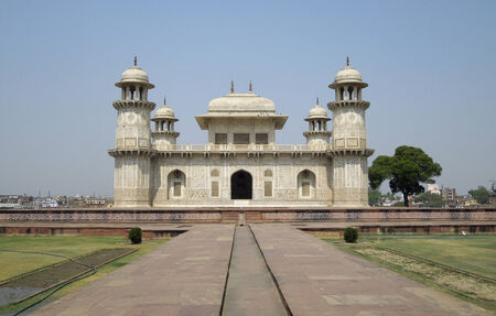 uttar pradesh: Tomb of Itimad-ud-Daulah in Agra in Uttar Pradesh, India Editorial
