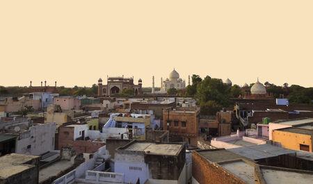 uttar pradesh: city named Agra in Uttar Pradesh, India Stock Photo