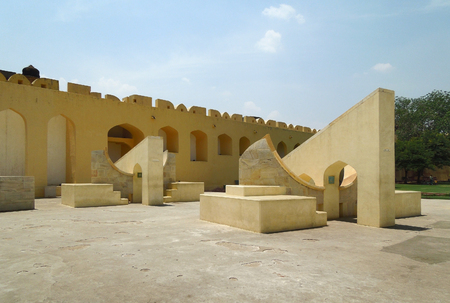 astronomic: the Jantar Mantar, a collection of architectural astronomic instruments in jaipur (Rajasthan, India)
