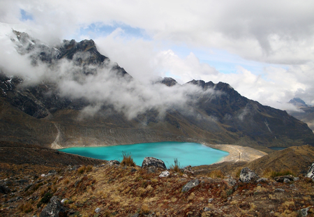 highlands region: Andes scenery around Huancayo in Peru (South America)