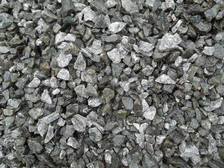 full frame gray gravel background